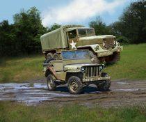 Revell M34 Tactical Truck&Off Road Vehicle 1:35 makett 3260