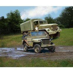 Revell M34 Tactical Truck&Off Road Vehicle 1:35 makett 3260