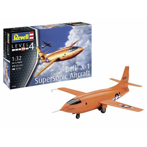 Revell BELL X-1 Supersonic Aircraft repülőgép makett 03888