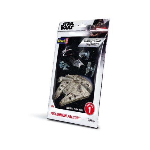 Revell Star Wars Millenium Falcon easy click makett 1100