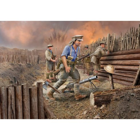 ANZAC Infantry (1915) figura makett Revell 2618