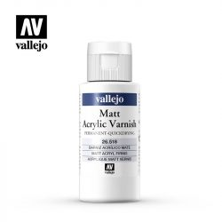 Matt Acrylic Varnish 60ml akrilbázisú matt lakk vallejo 26518