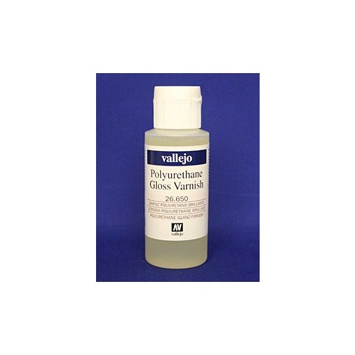 Vallejo Polyurethane Gloss Varnish 60ml poliuretán fényes lakk 26650