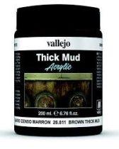 Brown Mud Weathering Effect Vallejo 26811