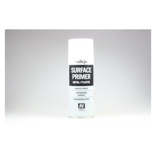 Vallejo Surface Primer alapozó spray fehér 400 ml 28010