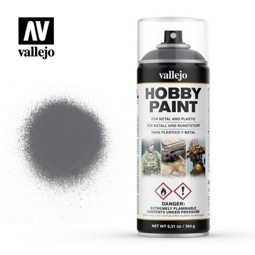 Vallejo Fantasy Color Primer Gunmetal akril spray 400 ml. 28031