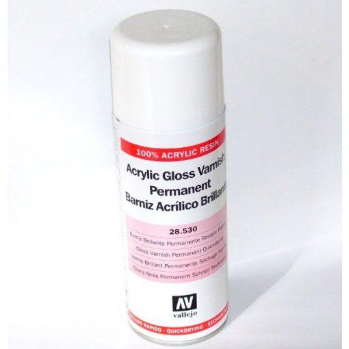 Vallejo akril fényes lakk spray 400 ml 28530