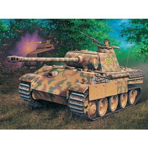 Revell PzKpfw V. Panther Ausf.G (Sd.Kfz.171) tank harcjármű makett 3171