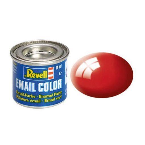 Revell FIERY RED GLOSS olajbázisú (enamel) makett festék 32131