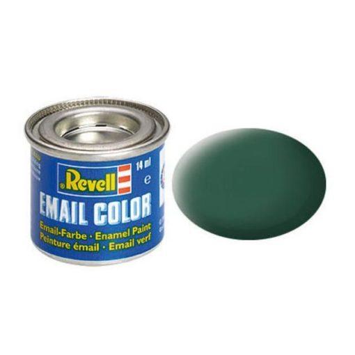 Revell DARK GREEN MATT olajbázisú (enamel) makett festék 32139