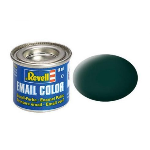 Revell BLACK-GREEN MATT olajbázisú (enamel) makett festék 32140