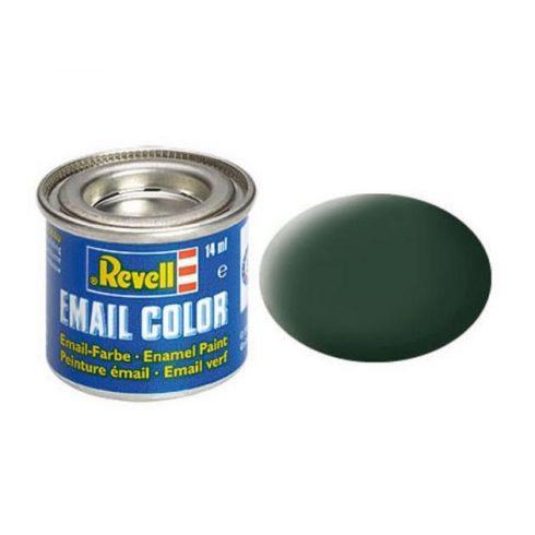 Revell DARK GREEN MATT RAF olajbázisú (enamel) makett festék 32168