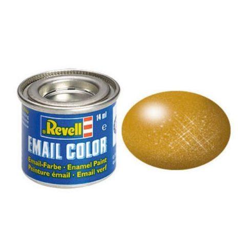 Revell BRASS METALLIC olajbázisú (enamel) makett festék 32192