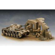 PzKpfw II Ausf. F tank harcjármű makett revell 3229