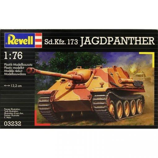 Revell Sd.Kfz.173 Jagdpanther tank harcjármű makett 3232
