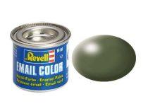 Olive green silk makett festék Revell 32361