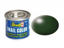 Dark green silk makett festék Revell 32363