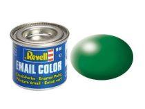 Leaf green silk makett festék Revell 32364