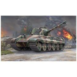 Revell PzKpfw. VI King Tiger w Henschel Turret tank makett 3249