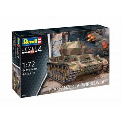 Revell Flakpanzer IV AA Tank IV Wirbelwind makett 3267