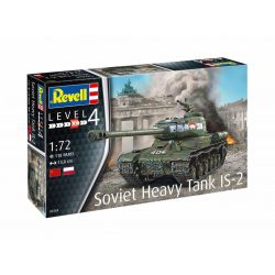 Revell Soviet Heavy Tank IS-2 1:72 tank makett (3269)