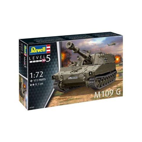 Revell M109 G tank makett 3305