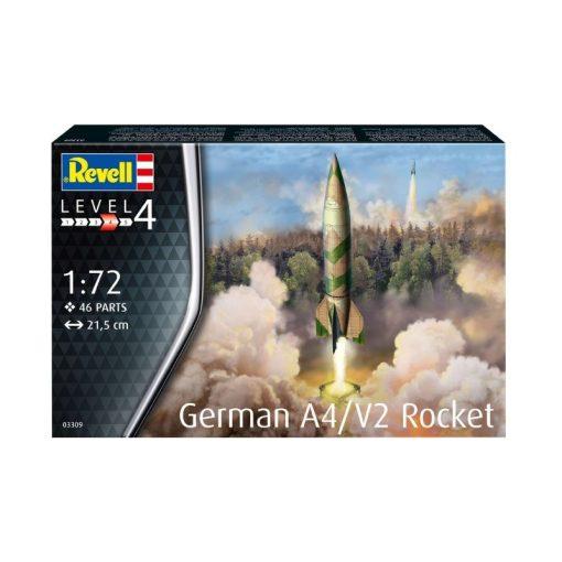 Revell German A4:V2 Rocket makett 3309