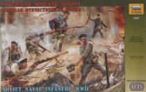 Soviet Naval Infantry figura makett Zvezda 3520