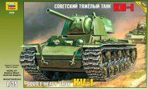 Zvezda KV-1 Soviet Heavy Tank makett 3539