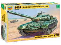 T-72A Russian main battle tank makett Zvezda 3552