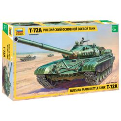 T-72A Russian main battle tank makett Zvezda 3552