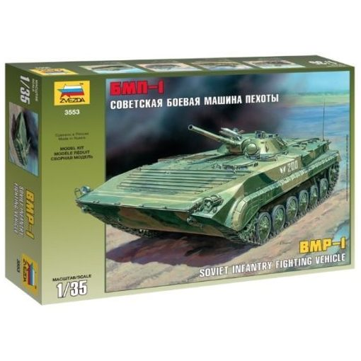 Zvezda BMP-1 Russian Fighting Wehicle tank makett 3553