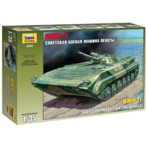 Zvezda BMP-1 Russian Fighting Wehicle tank makett 3553