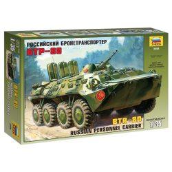BTR-80 Russian Personnel Carrier makett Zvezda 3558