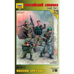 Russian Special Forces figura makett Zvezda 3561
