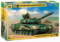Russian Main Battle Tank T-90 tank makett Zvezda 3573