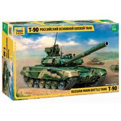 Russian Main Battle Tank T-90 tank makett Zvezda 3573