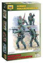 German panzergrenadiers figura makett Zvezda 3582