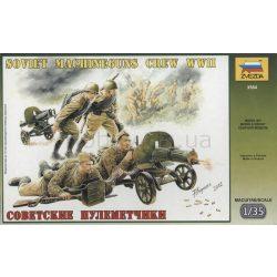 Soviet Machineguns Crew WWII 1943-1945 figura