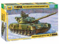 Russian Main Battle Tank T-80UD tank makett Zvezda 3591