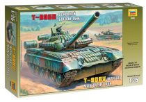 Russian Main Battle Tank T - 80BV tank makett Zvezda 3592
