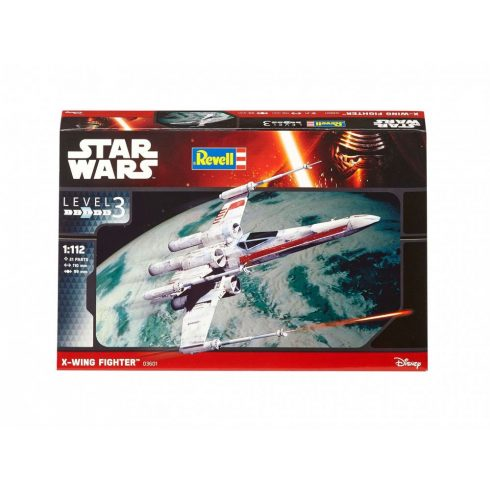 Revell Star Wars  X-Wing Fighter makett 3601