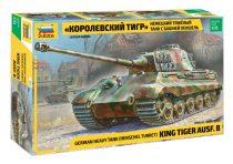 KingTiger Ausf B (Henschel turret) tank harcjármű makett zvezda 3601