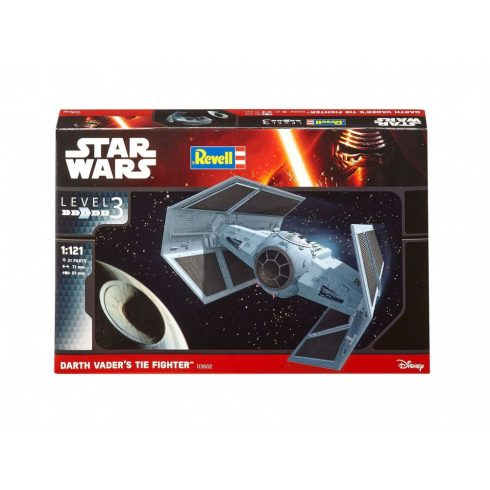 Revell Star Wars Darth Vader's TIE Fighter makett 3602