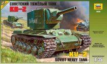 Soviet heavy tank KV-2 tank makett Zvezda 3608