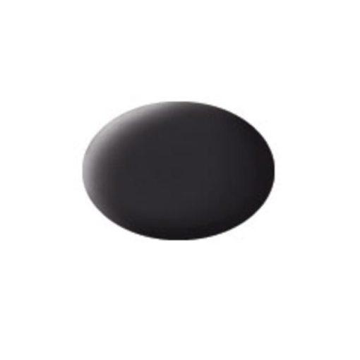 Revell AQUA TAR BLACK MATT akril makett festék 36106