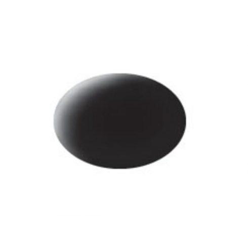 Revell AQUA BLACK MAT akril makett festék 36108