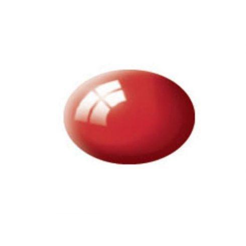 Revell AQUA FIERY RED GLOSS akril makett festék 36131