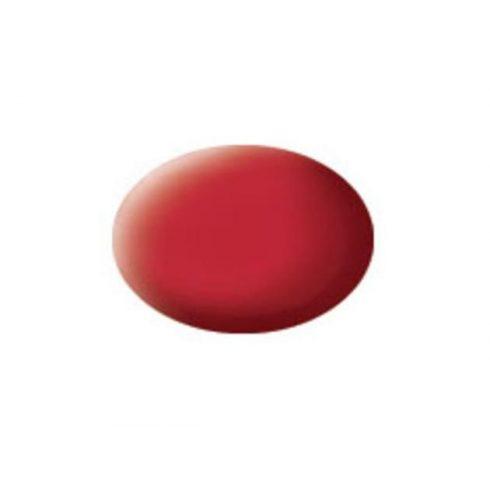 Revell AQUA CARMINE RED MATT akril makett festék 36136