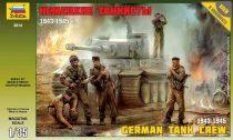 GERMAN TANK CREW 1943-1945 figura makett Zvezda 3614